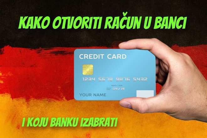 Račun u banci u Njemačkoj i kako ga  otvoriti 2020 (i koje su najbolje banke