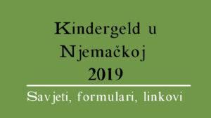 Kindergeld u Njemačkoj 2020 (sve informacije)