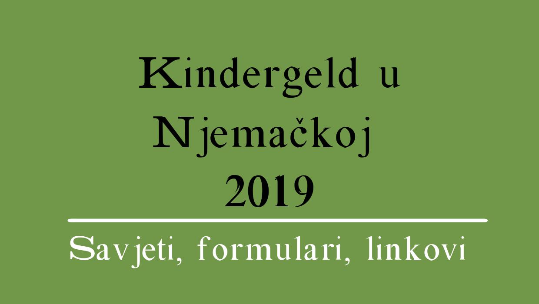Kindergeld u Njemačkoj 2021 (sve informacije)