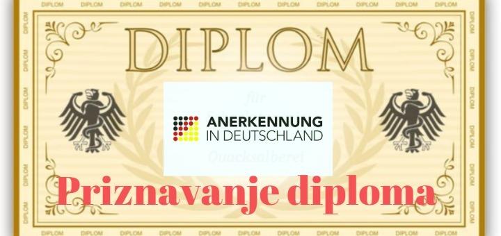 Priznavanje diplome u Njemackoj (nostrifikacija diplome 2021)