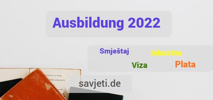 ausbildung njemačka